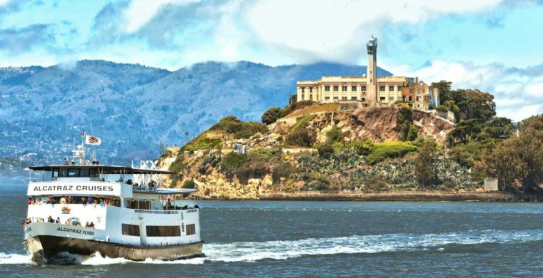 Ile d'Alcatraz, San Francisco, Californie