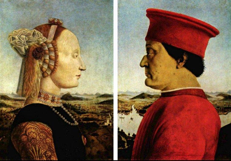 Le triomphe de la chasteté, Pietro della Francesca, 1465