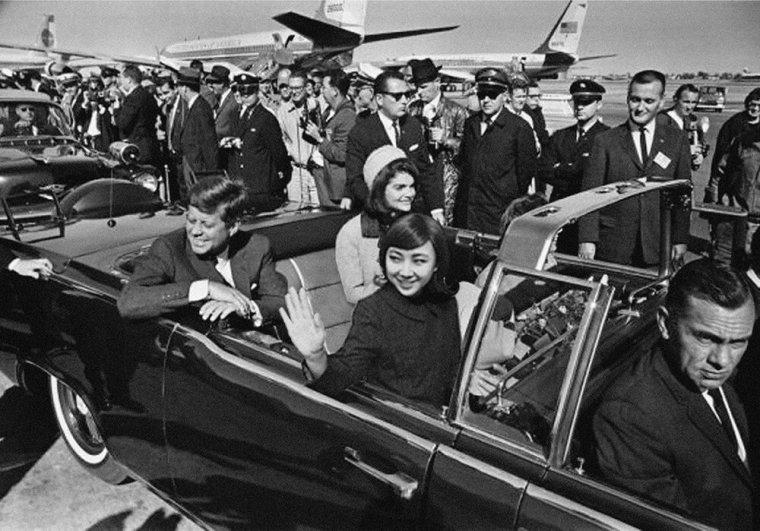Silin Liu, John Filzgerald et Jackie Kennedy