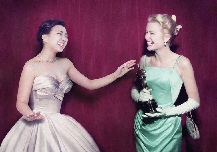 Silin Liu et Grace Kelly
