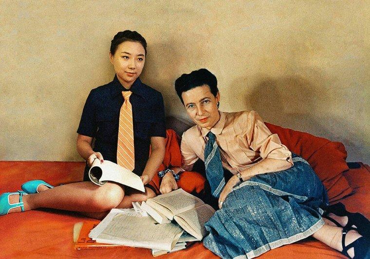 Silin Liu et Simone de Beauvoir