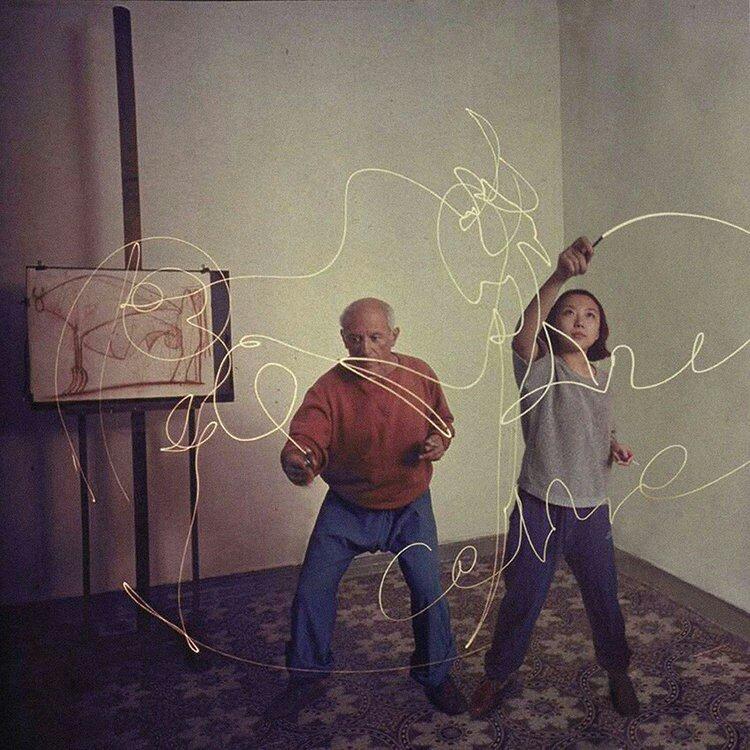 Silin Liu et Pablo Picasso