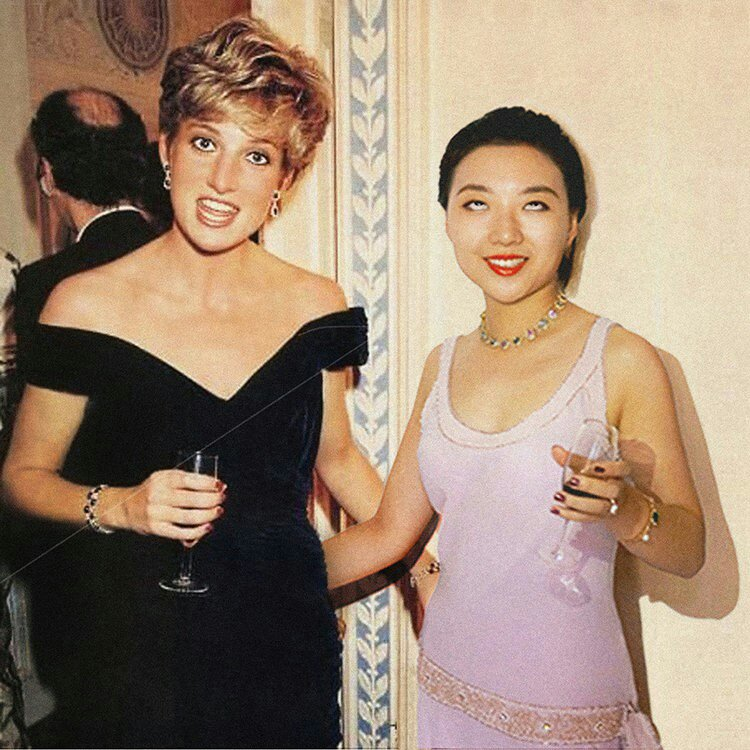 Silin Liu et lady Di