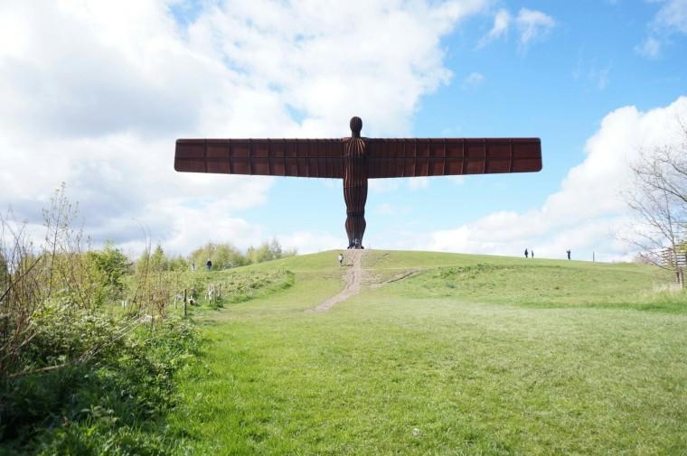 L'ange du Nord, Antony Gormley