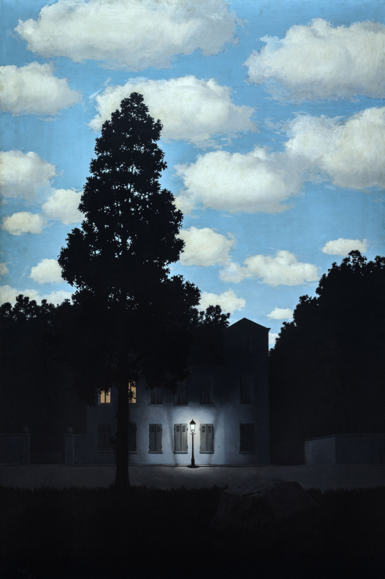 Empire of Light , 1953-1954, René Magritte.