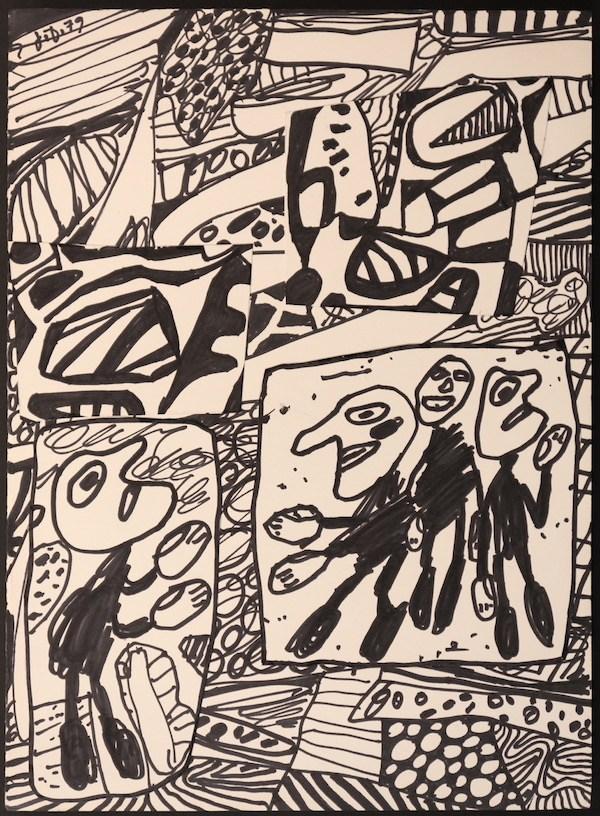 Jean Dubuffet, sans titre, 1979