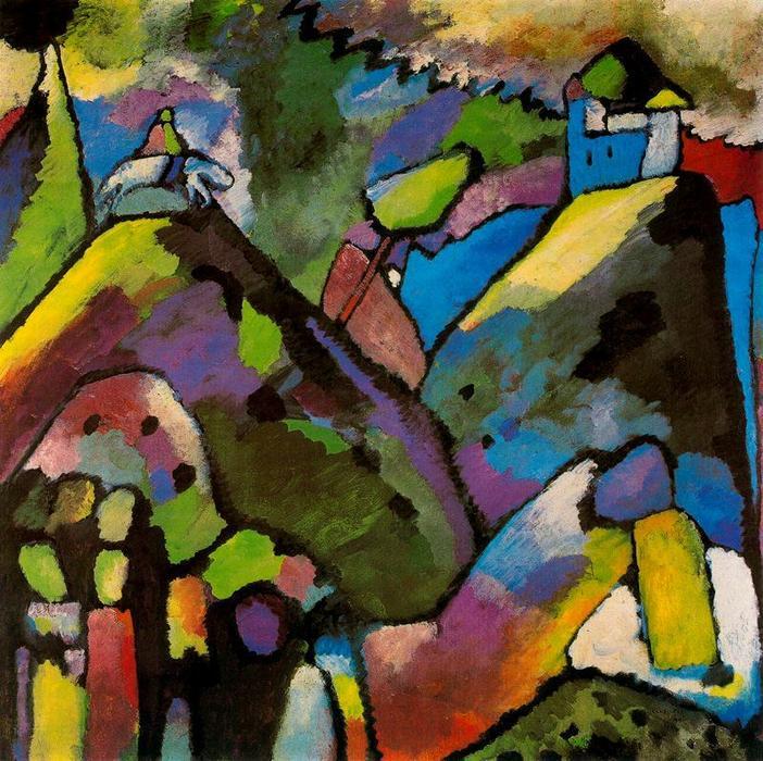 Kandinski, Improvisation 9, 1909