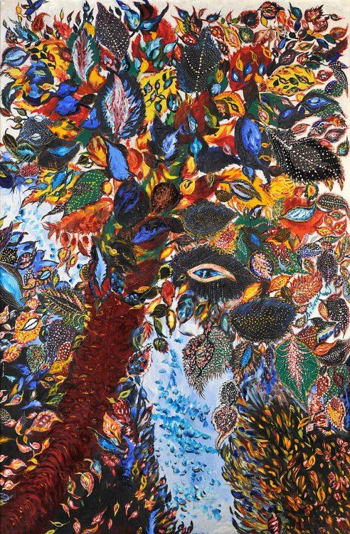 Séraphine Louis, l'arbre de paradis, 1930