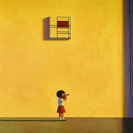 Mondrian in the afternoon, 2000, Liu Ye